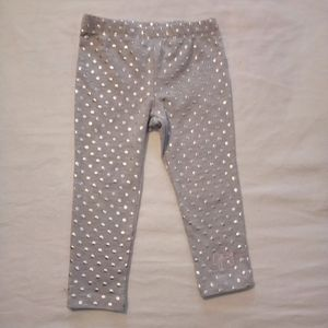 🦉 JUICY COUTURE girls polka dot bottoms 2T